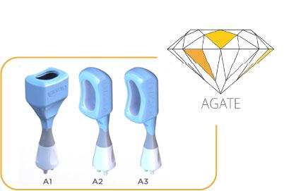Agate Kryolipolyse Applikatoren