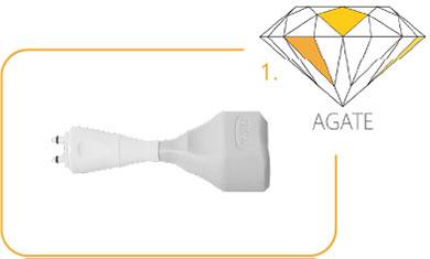 Cristal Agate Applikator