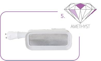 Cristal Amethyst Applikator