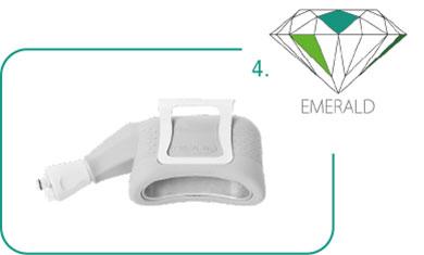 Cristal Emerald Applikator